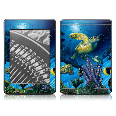 Kindle Touch Skin - Ocean Fest