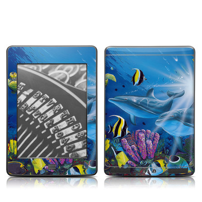 Kindle Touch Skin - Ocean Friends