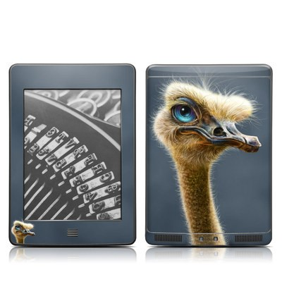 Kindle Touch Skin - Ostrich Totem
