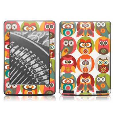 Kindle Touch Skin - Owls Family