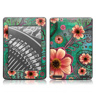 Kindle Touch Skin - Paisley Paradise