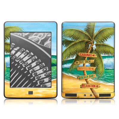 Kindle Touch Skin - Palm Signs