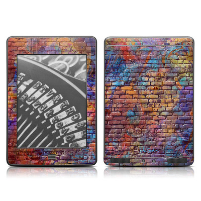 Kindle Touch Skin - Painted Brick