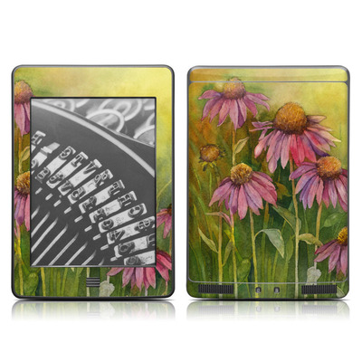 Kindle Touch Skin - Prairie Coneflower