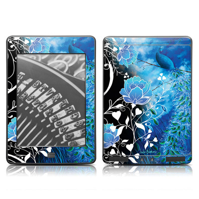 Kindle Touch Skin - Peacock Sky