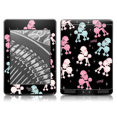 Kindle Touch Skin - Poodlerama