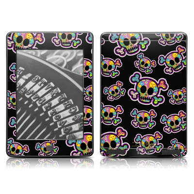 Kindle Touch Skin - Peace Skulls
