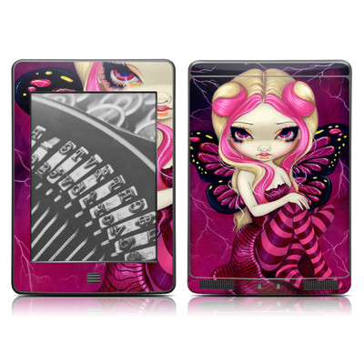 Kindle Touch Skin - Pink Lightning