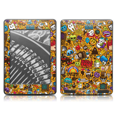 Kindle Touch Skin - Psychedelic
