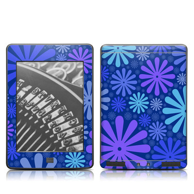 Kindle Touch Skin - Indigo Punch