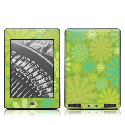 Kindle Touch Skin - Lime Punch