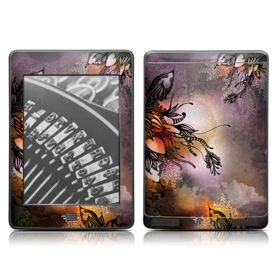 Kindle Touch Skin - Purple Rain
