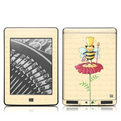 Kindle Touch Skin - Queen Bee