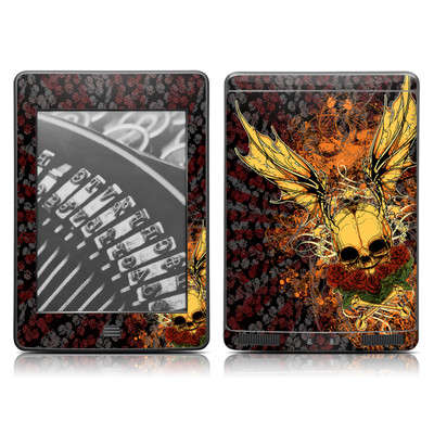 Kindle Touch Skin - Radiant Skull