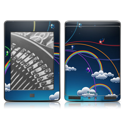 Kindle Touch Skin - Rainbows