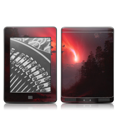 Kindle Touch Skin - Red Harbinger