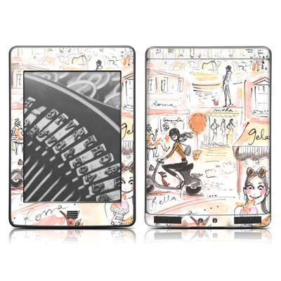 Kindle Touch Skin - Rome Scene