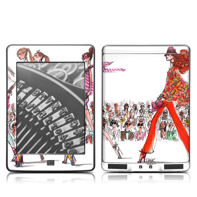 Kindle Touch Skin - Runway Runway