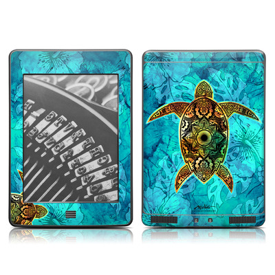 Kindle Touch Skin - Sacred Honu