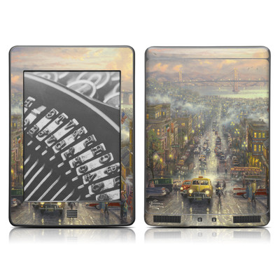 Kindle Touch Skin - Heart of San Francisco