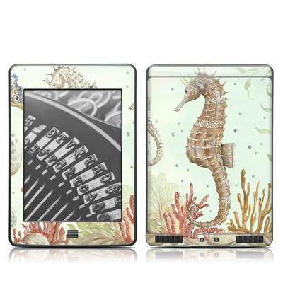 Kindle Touch Skin - Seahorse Trio