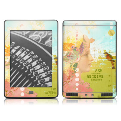 Kindle Touch Skin - See Believe