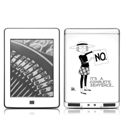 Kindle Touch Skin - Sentence