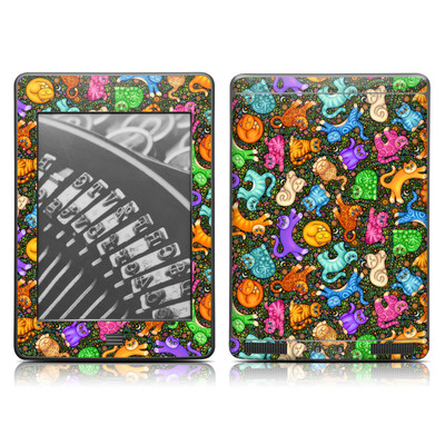 Kindle Touch Skin - Sew Catty