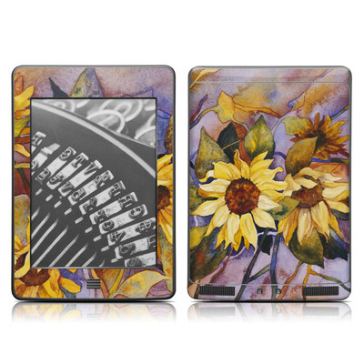 Kindle Touch Skin - Sunflower