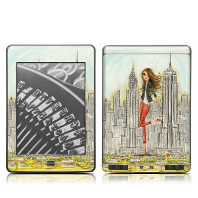 Kindle Touch Skin - The Sights New York