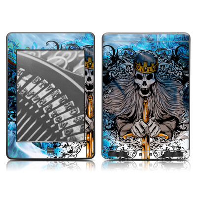 Kindle Touch Skin - Skeleton King
