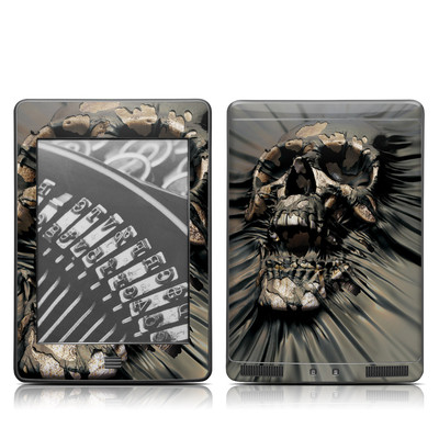 Kindle Touch Skin - Skull Wrap