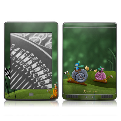 Kindle Touch Skin - Snail Race