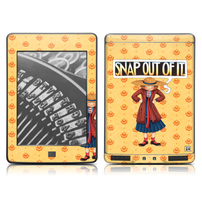 Kindle Touch Skin - Snap Out Of It