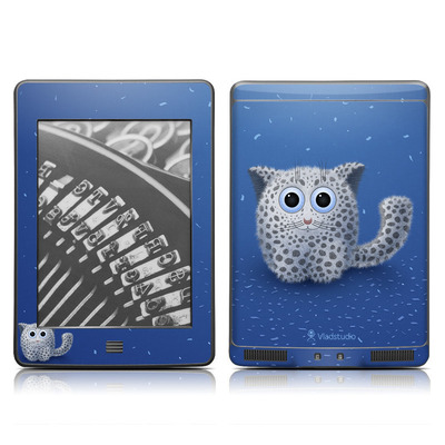 Kindle Touch Skin - Snow Leopard