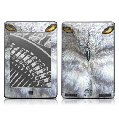 Kindle Touch Skin - Snowy Owl