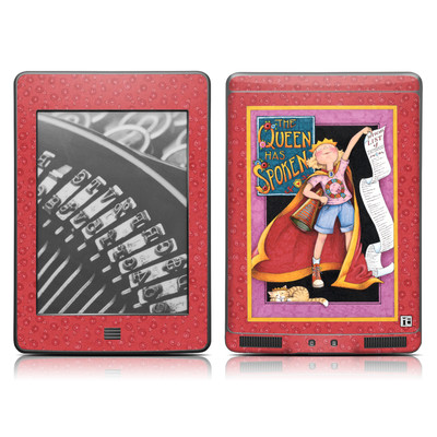 Kindle Touch Skin - Queen Has Spoken
