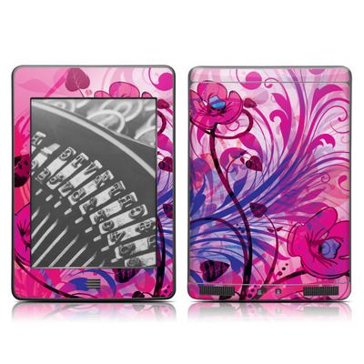 Kindle Touch Skin - Spring Breeze