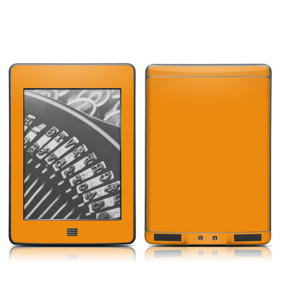 Kindle Touch Skin - Solid State Orange