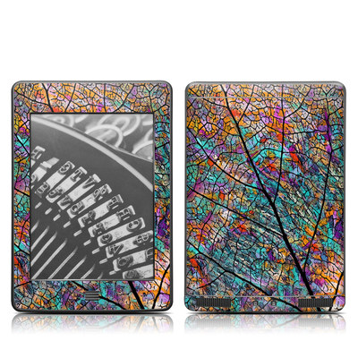 Kindle Touch Skin - Stained Aspen