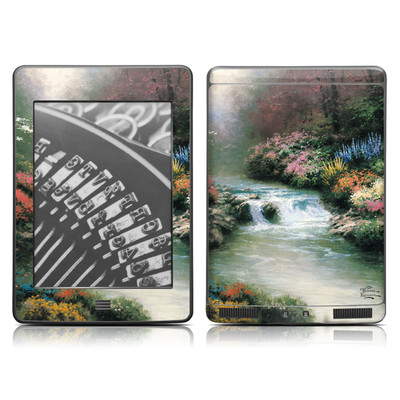 Kindle Touch Skin - Beside Still Waters