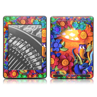 Kindle Touch Skin - Summerbird