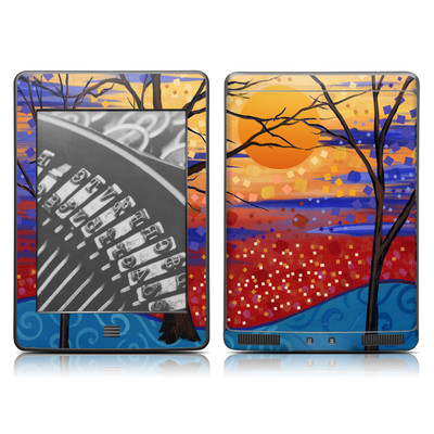 Kindle Touch Skin - Sunset Moon