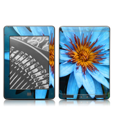 Kindle Touch Skin - Sweet Blue
