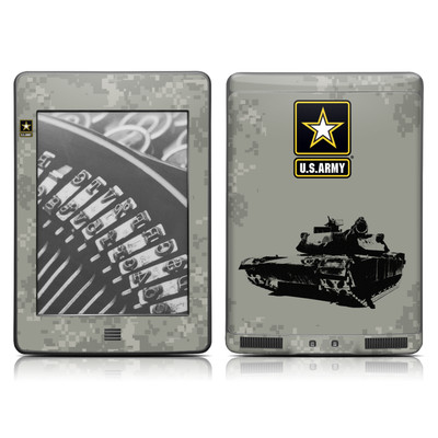 Kindle Touch Skin - Tank Tuff