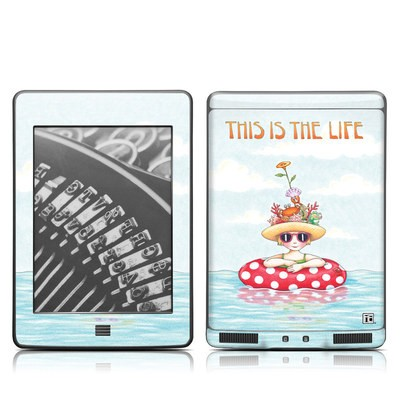 Kindle Touch Skin - This Is The Life