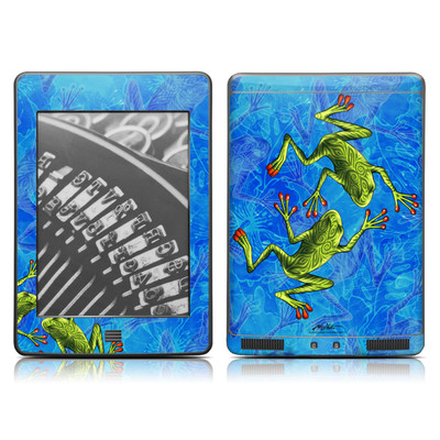 Kindle Touch Skin - Tiger Frogs