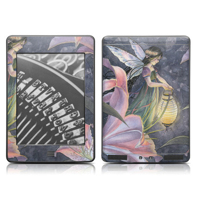 Kindle Touch Skin - Twilight Lilies