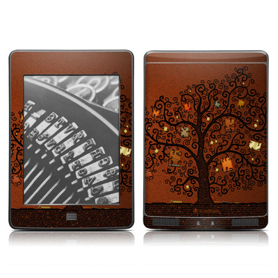 Kindle Touch Skin - Tree Of Books
