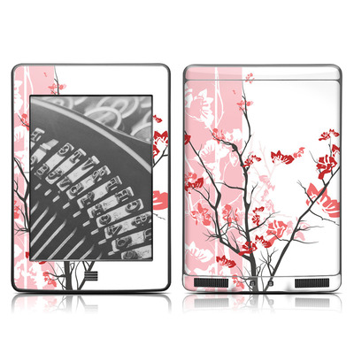 Kindle Touch Skin - Pink Tranquility